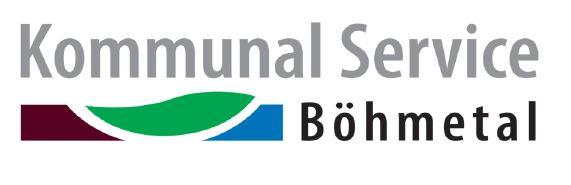 Kommunal Service Böhmetal gkAöR